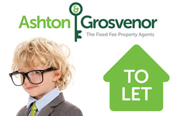 Ashton & Grosvenor To Let board