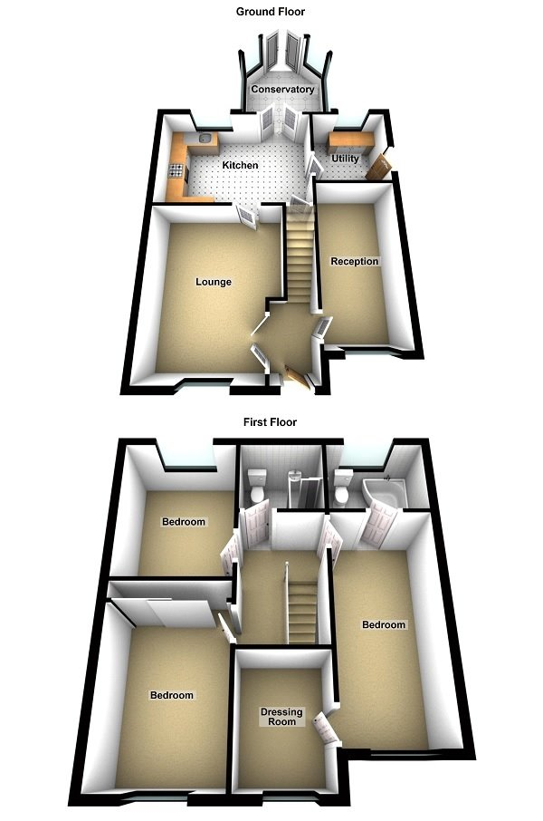 Wells Close, Chester Floorplan