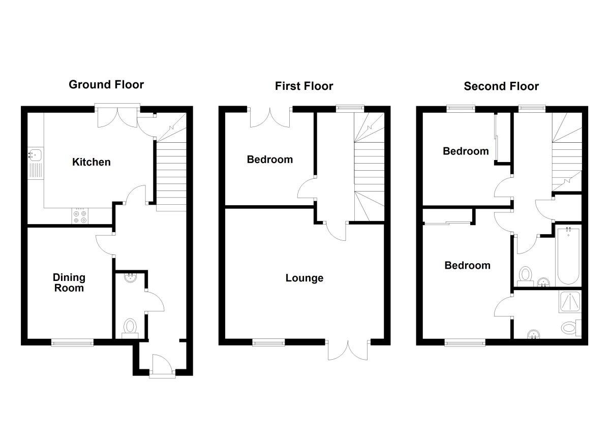Upton Grange, Chester Floorplan