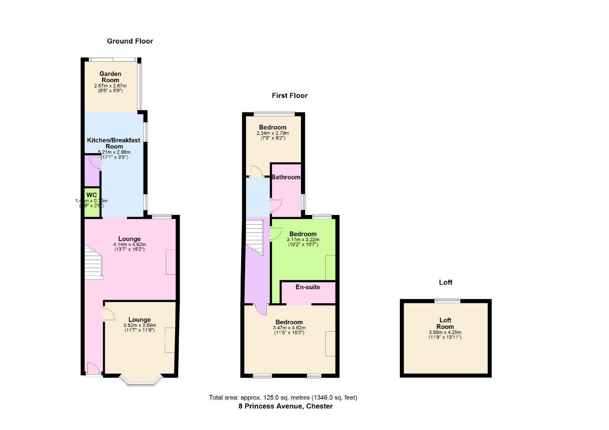 Princes Avenue, Chester Floorplan