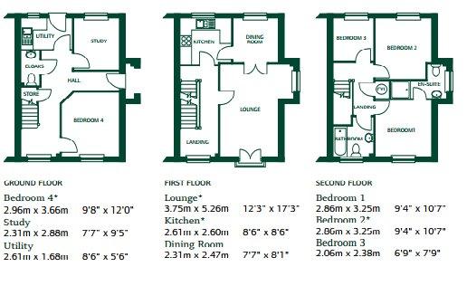 Neston Close, Helsby Floorplan