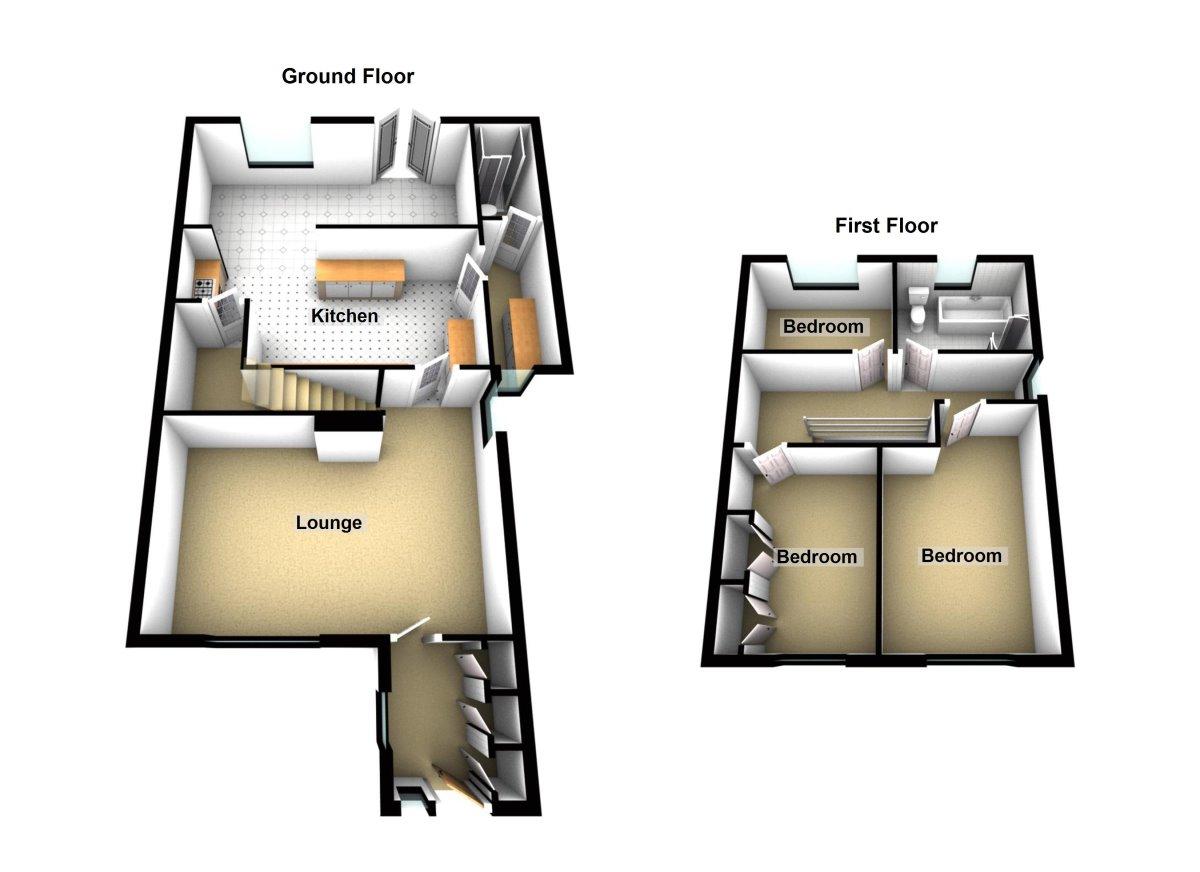 Lancaster Drive, Chester Floorplan