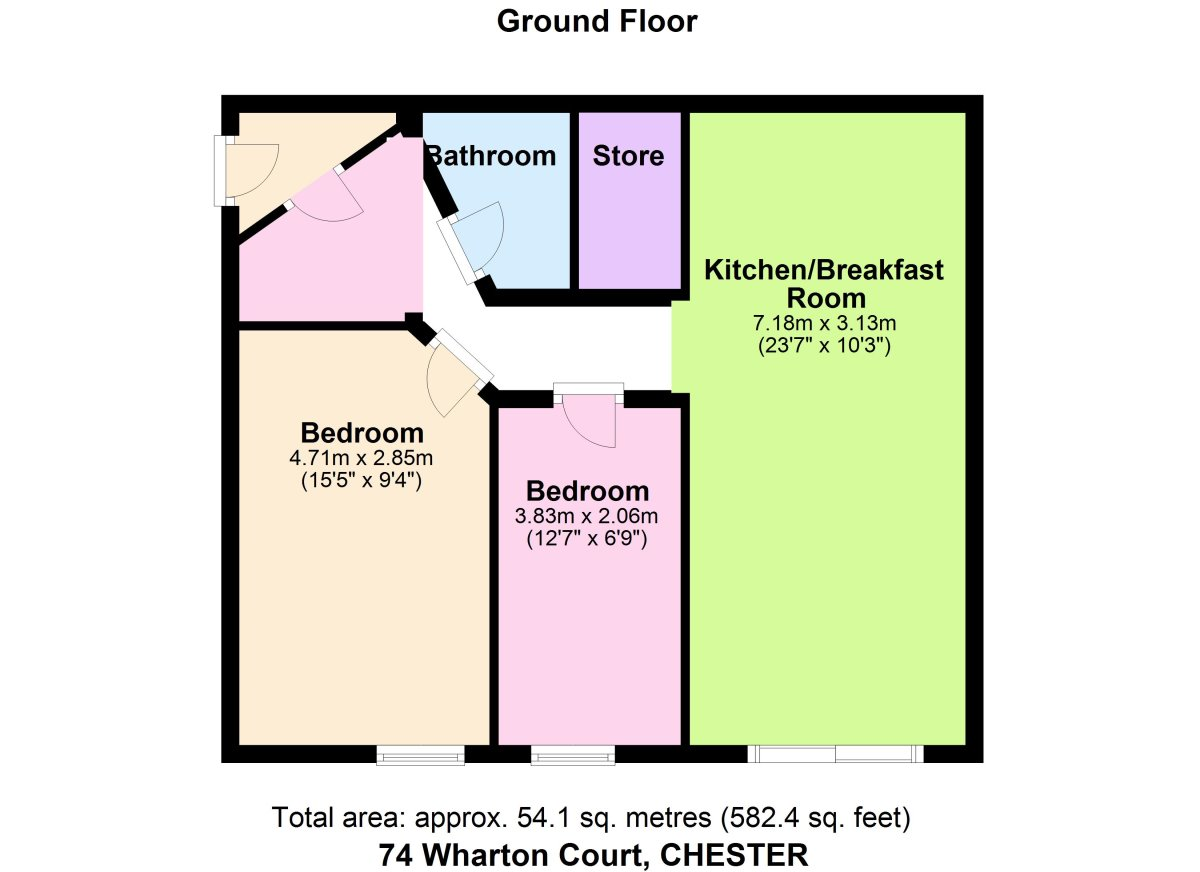 Wharton Court, Chester Floorplan