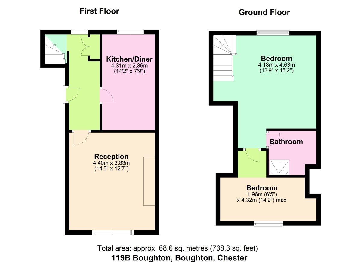 Boughton, Chester Floorplan