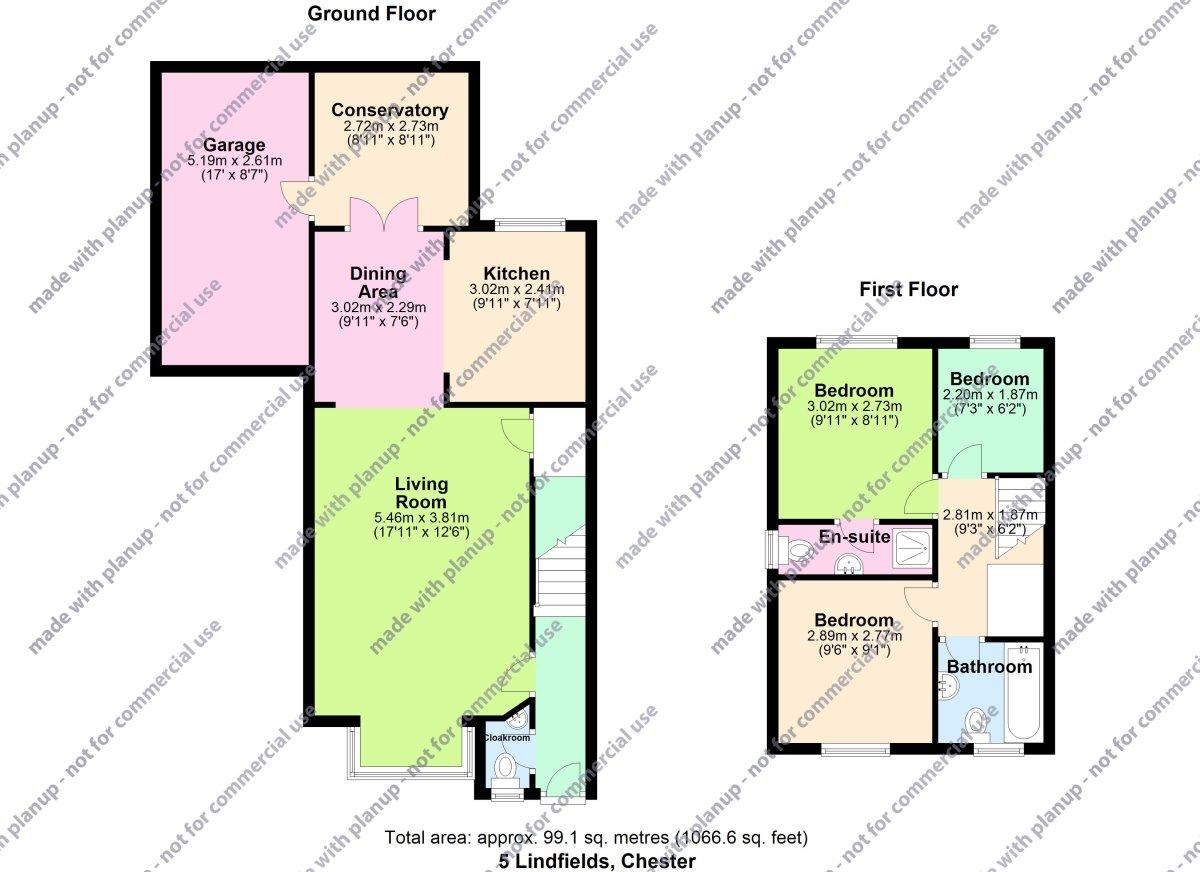 Lindfields, Chester Floorplan